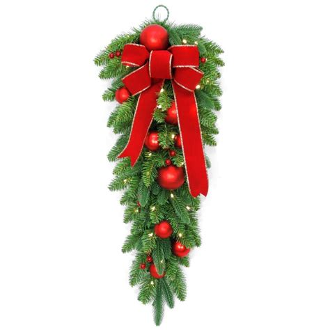 national tree company   battery operated mixed fir