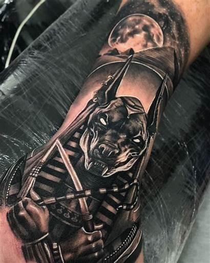 Tattoo Tattoos Sleeve Tatuaje Anubis Realistic Amazing