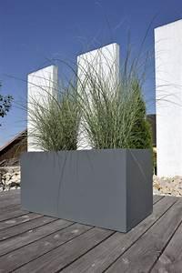 Pflanztrog Aus Beton : mit seinem klaren design tr gt der pflanztrog muro 50 aus fibergls in mattem grau zur dekoration ~ Sanjose-hotels-ca.com Haus und Dekorationen