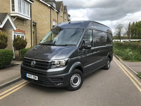 volkswagen crafter vw crafter trendline cr35 mwb 2 0 tdi review business vans