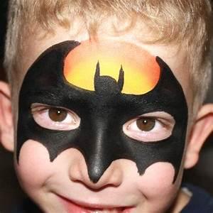 Batman Face Paint | Bubbles Crew Parties