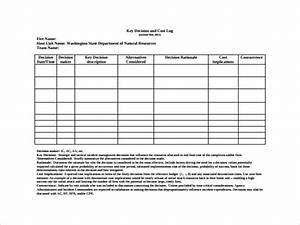 Risk Register Template Excel Free Download Free 9 Sample Decision Log Templates In Pdf Ms Word