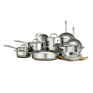 members mark tri ply clad  pc cookware set  piece ebay