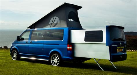 Just Vantastic! Head-turning Campervan Opens Up To Reveal
