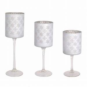 silver snowflake candle holder set of three melrose With kitchen cabinets lowes with votive candle holders michaels