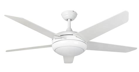White Ceiling Fans With Lights by Ceiling Fan Neptune White With Led And Remote Ceiling Fans
