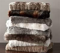 faux fur throw Faux Fur Throw | Pottery Barn