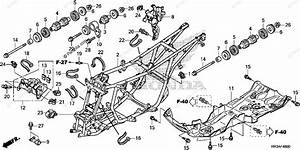 Honda Atv 2015 Oem Parts Diagram For Frame