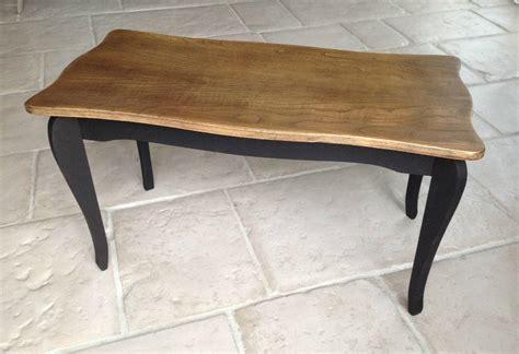 bureau bois massif ancien table basse en bois patine noir bois naturel