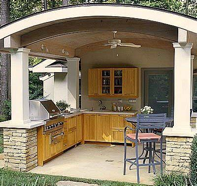 outside kitchen design ideas the best covered outdoor kitchen ideas and designs 3885