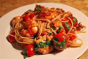 Rezepte Mit Garnelen : spaghetti mit garnelen von sunda ~ Lizthompson.info Haus und Dekorationen