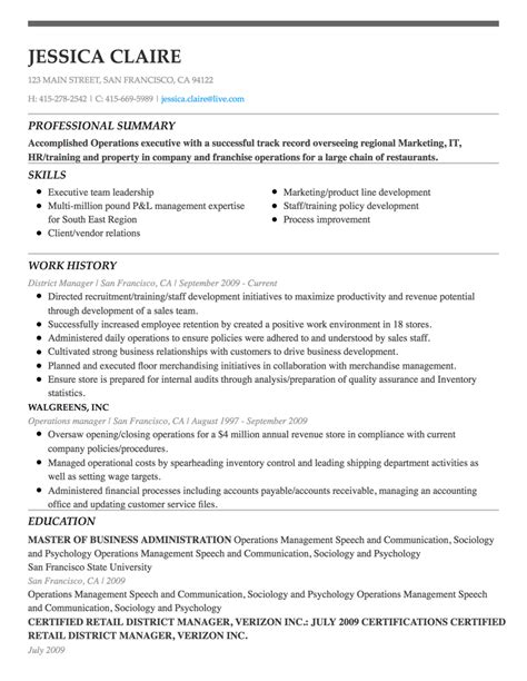 Resume Builder Sign In by Free Resume Builder Create A Professional Resume