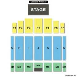 the colosseum at caesars windsor seating charts