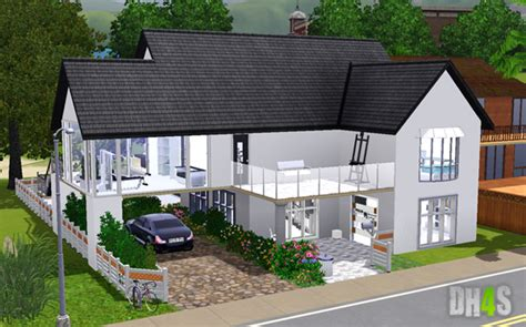 sims 3 maison moderne sims 4 maison moderne ventana