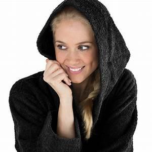 Morgenmantel Damen Baumwolle : kapuzen bademantel morgenmantel damen herren schwarz frottee s xxxl montana ebay ~ Watch28wear.com Haus und Dekorationen