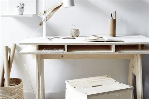 fabriquer bureau diy fabriquer un bureau design et pas cher tout en bois
