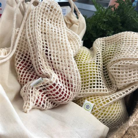 Reusable Organic Cotton Produce Bags By Green Tulip ...