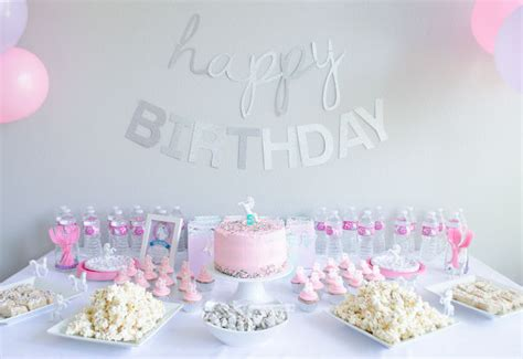 birthday party ideas for popsugar unicorn 5th birthday party kids party time