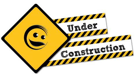 construction schild fuer eure jimdo page im aufbau
