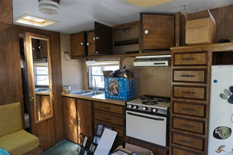 Elegantly Crafted Interior by Vintage Craft Travel Trailer Renovation C To C