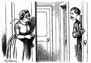 How to draw knock at door