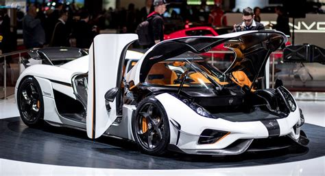 Koenigsegg Regera In White Looks Like A Ghost In A Carbon