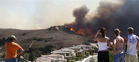 wildfires affect   census public policy