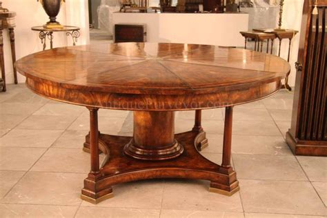 extra large round dining table furniture extra large round mahogany dining table large