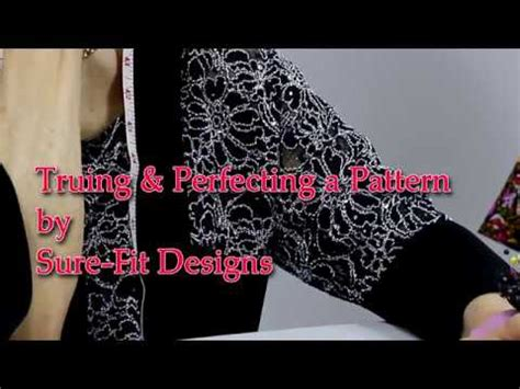 sure fit designs how to true a sewing pattern by sure fit designs