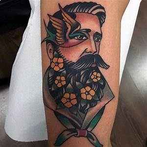 Top 50+ Marvelous American Traditional Tattoos or Old ...