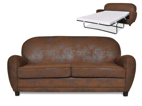 canapé chesterfield cuir gris sofá cama 3 plazas de microfibra aspecto piel