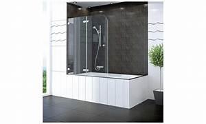 Pare Baignoire D Angle : pare baignoire miroir maison design ~ Melissatoandfro.com Idées de Décoration