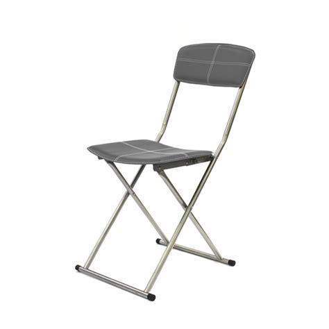 chaise pliante salle à manger chaise pliante duck gris anthracite l 47 x h 85 x p 47