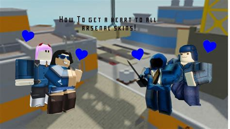 Arsenal skins roblox wikiall software. HOW To get a Heart to all Arsenal Skins   Arsenal Roblox - YouTube