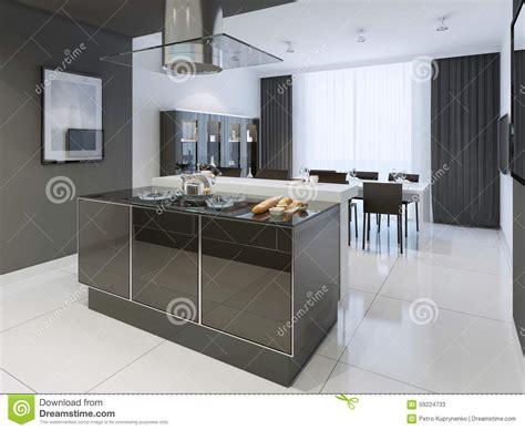 cuisine blanche et davaus cuisine moderne et blanche avec des