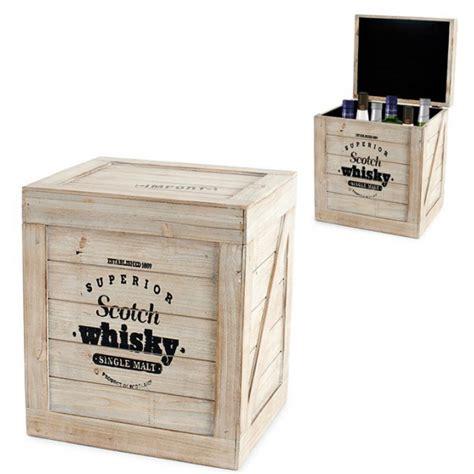 caisse 224 bouteilles scotch whisky en bois id 233 e cadeau france