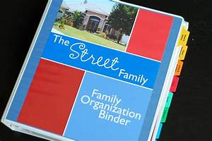 family organizer binder just bcause With household documents organizer