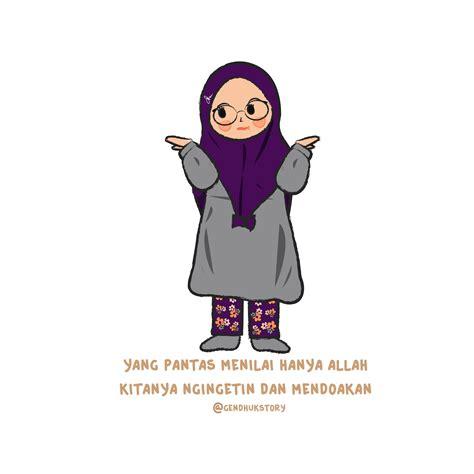 top kartun muslimah jofisa  gambarcarton