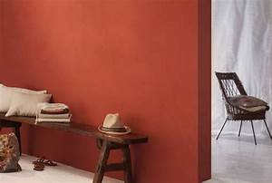 la chaux ocre rouge la chaux pinterest rouge With wonderful comment faire la couleur orange en peinture 4 comment associer la couleur jaune en deco dinterieur