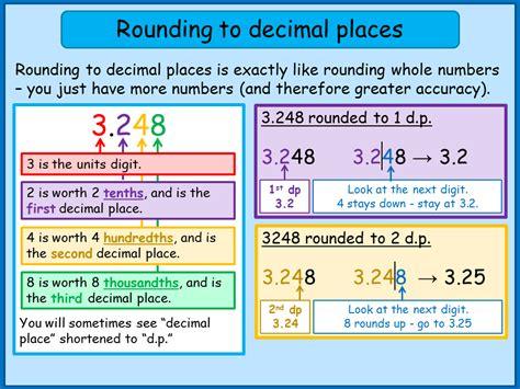 rounding to decimal places worksheet ks4 ks3 maths