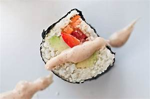 Raw Sushi with Raw Spicy Mayo-style Sauce   The Everyday ...
