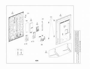 Lg 55lf6000 Lcd Television Parts