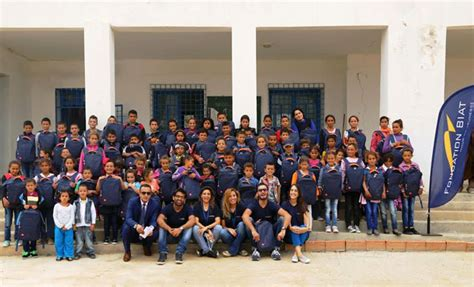 biat si鑒e social fondation biat 5000 cartables pour assurer un meilleur
