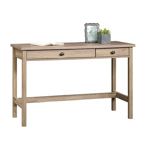 sauder computer desk salt oak sauder county line writing desk salt oak boscov s