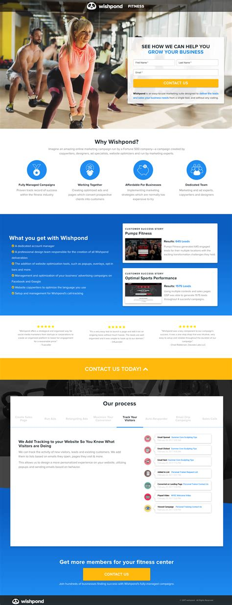 What Landing Page