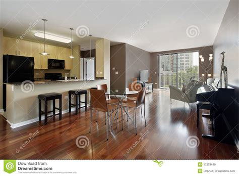 condo  open floor plan stock image image  elegant