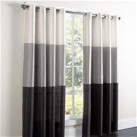 white grey black curtains bedroom decor