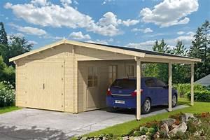 Englische Gartenhäuser Aus Holz : holzgarage mit carport 44 iso ~ Markanthonyermac.com Haus und Dekorationen