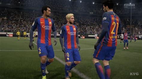 FIFA 17 - UEFA Champions League - Juventus vs FC Barcelona ...