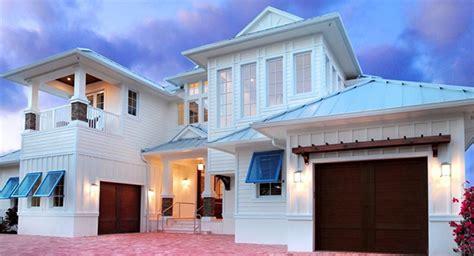 Luxury 2-story Beach House Plan